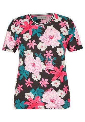 VIA APPIA Fröhliches Marškinėliai su gėlėtas raš...