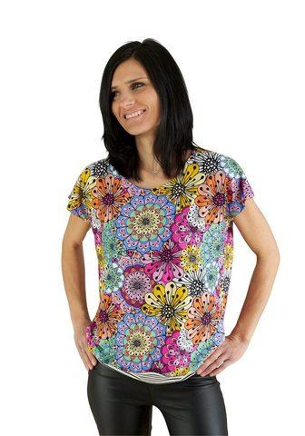 SEIDEL MODEN Blumiges Mandala-Shirt