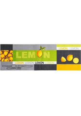 ANDIAMO Virtuvės kiliminis takelis »Lemon« rec...