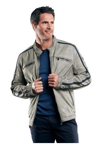 Байкерские куртка с Galonstreifen
