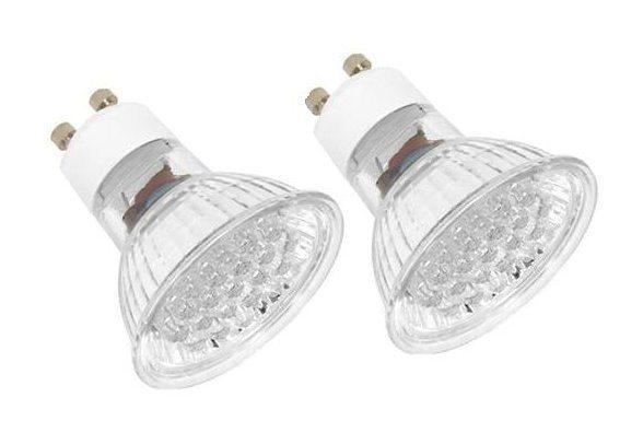 LED-Leuchtmittel (2er Set) für GU10 in weiß