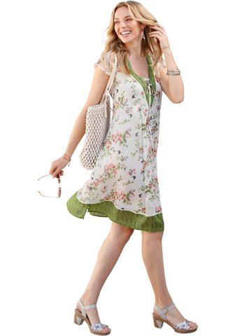 INSPIRATIONEN Suknelė iš luftigem šifonas