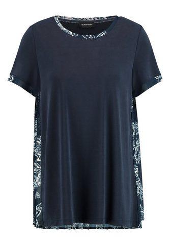TAIFUN Marškinėliai trumpomis rankovėmis apva...