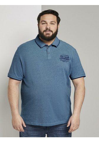 TOM TAYLOR MEN PLUS TOM TAILOR Men Plus Polo marškinėliai ...