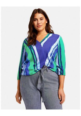 Блуза 3/4 рукава Блузка с Wickel-Optik...