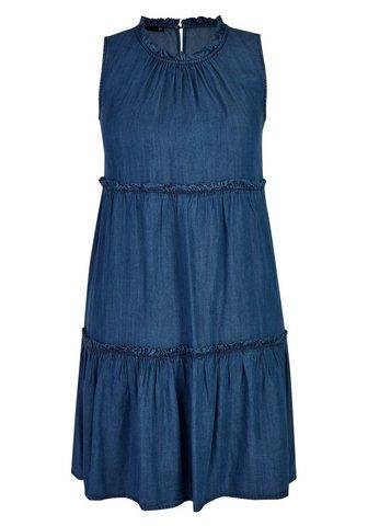 THOMAS RABE Suknelė in džinsinės medžiagos imitaci...