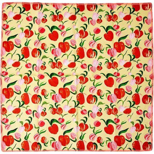 """rice Stoffserviette »2er-Set Baumwoll-Servietten """"Peach"""", 40x40cm«"""
