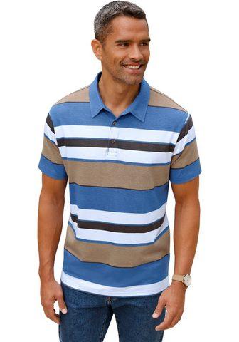 Polo marškinėliai im attraktiven Strei...