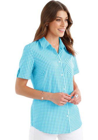 Блуза в charmanten клетчатый