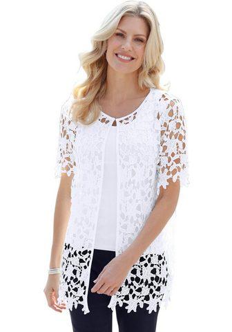 Рубашка-куртка с модный кружевом