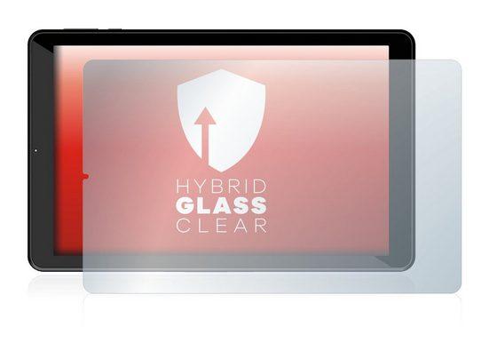 upscreen Schutzfolie »Panzerglasfolie für Logicom La Tab 124 HD«, Schutzglas Glasfolie klar