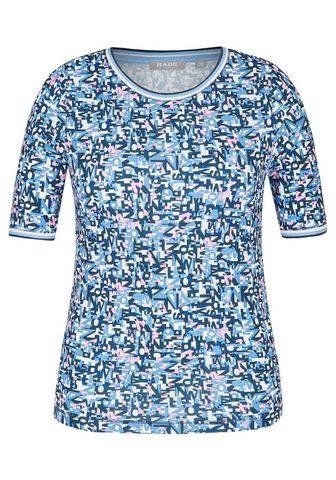RABE Marškinėliai su Allover-Lettering ir R...