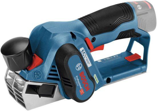 Bosch Professional Akku-Elektrohobel »GHO 12V-20 Hobel«, Hobelbreite: 56 in mm, ohne Akku und Ladegerät