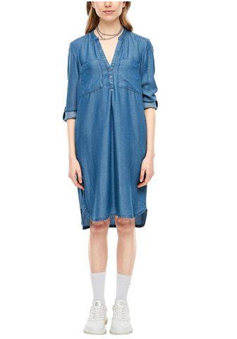 Q/S DESIGNED BY Džinsinė suknelė