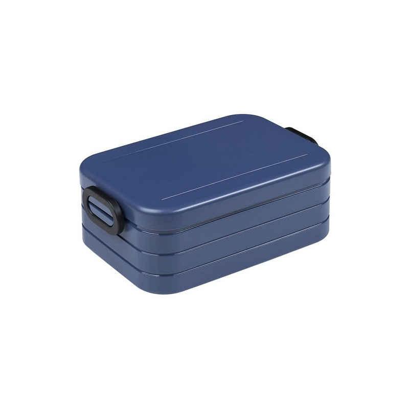 Mepal Lunchbox »Bento-Lunchbox TAB Midi Nordic Denim«, Material-Mix, (1-tlg)
