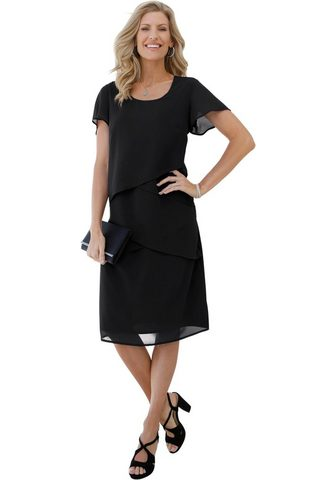 CLASSIC BASICS Suknelė in duftiger permatomas kokybiš...