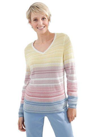 Пуловер в markantem узор
