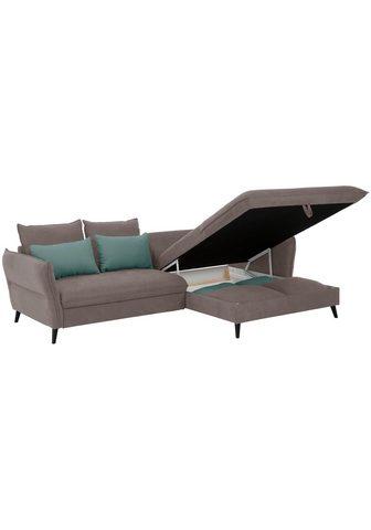 HOME AFFAIRE Kampinė sofa »Tirano«