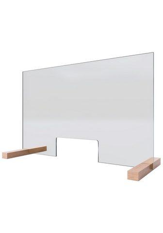 SCHULTE Pertvara »Glaswand« (H x B): 475 x 750...