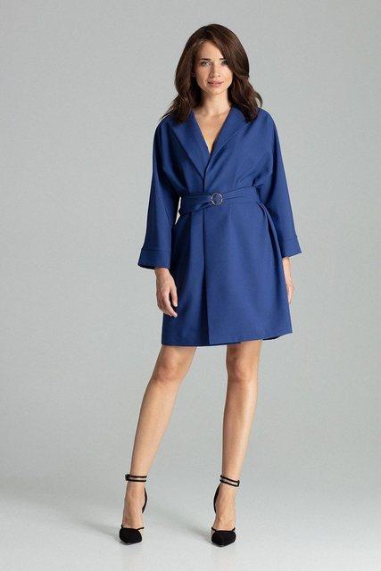 LENITIF Kleid im Mantel-Stil »L058«