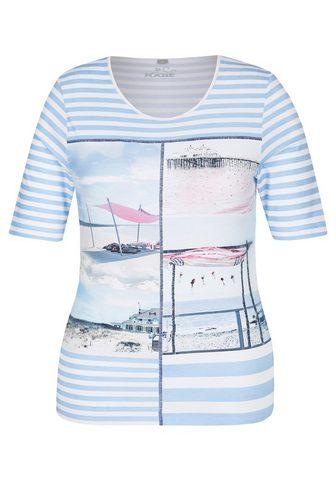RABE Marškinėliai su Ringeln ir Front-Print...