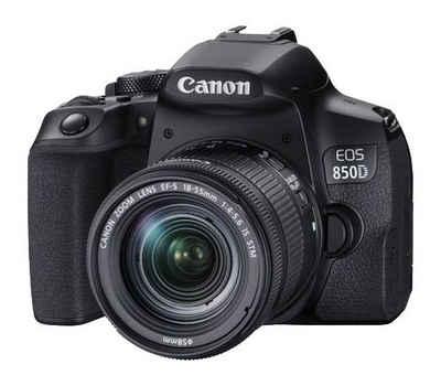 Canon »EOS 850D + EF-S 18-55mm f/4-5.6 IS STM« Spiegelreflexkamera (EF-S 18-55mm f/4-5.6 IS STM, 24,1 MP, Bluetooth, WLAN (WiFi)