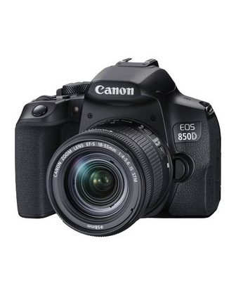 Canon »EOS 850D + EF-S 18-55mm f/4-5.6 IS ST...