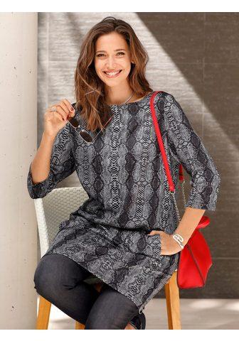 MIAMODA Megztinis su Schlangen-Print