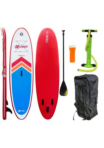 EXPLORER Inflatable SUP-Board »Stream 10.2«