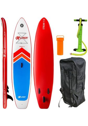 EXPLORER Inflatable SUP-Board »Stream 11.0«