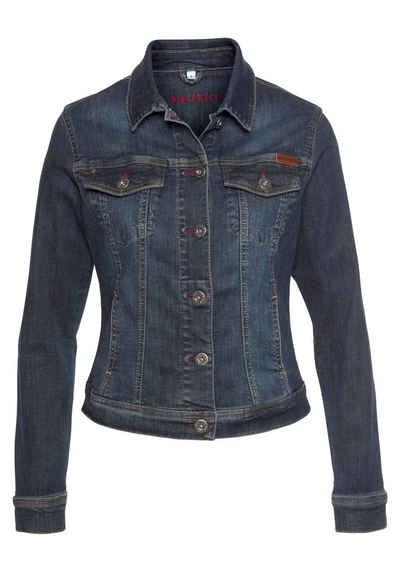 BLUE FIRE Jeansjacke »GIPSY« aus elastischer Denim-Qualität