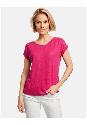 GERRY WEBER Marškinėliai 1/2 rankovės »Leinenshirt...