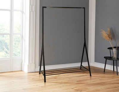 andas Garderobenständer »Bernhard«, aus schönem Metall, mit einer Ablagefläche, Breite 1170 cm