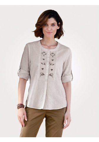 Блуза с кант и окантовка