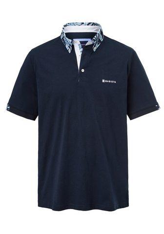 BABISTA Polo marškinėliai su Button-Down-Krage...