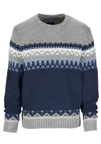 Пуловер с шерстяное