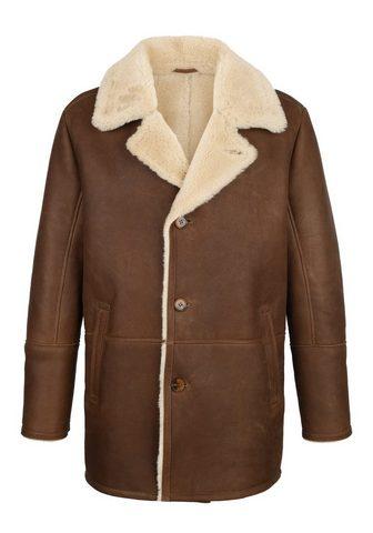 Куртка кожаная из gewachsenem ковер