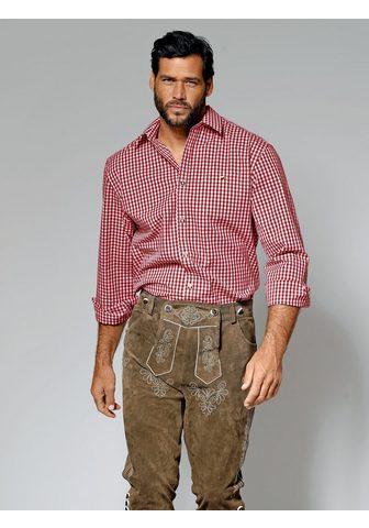 MEN PLUS BY HAPPY SIZE Languoti marškiniai im Trachten-Look