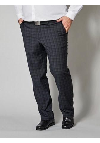 MEN PLUS BY HAPPY SIZE Kostiuminės kelnės su su kantu