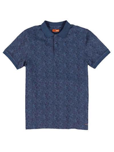 emilio adani T-Shirt »Sommerliches Poloshirt mit Print«