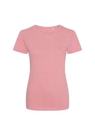 AWDIS Marškinėliai »Damen Girlie Slub«...