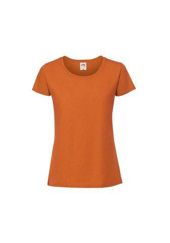 FRUIT OF THE LOOM Marškinėliai »Damen Premium«