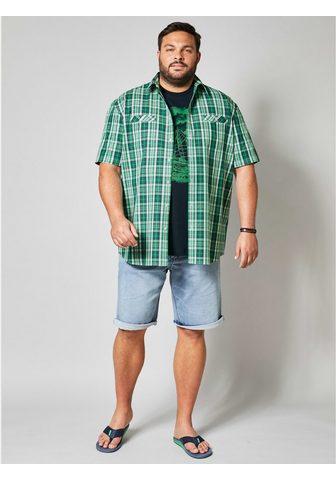 MEN PLUS BY HAPPY SIZE Marškiniai trumpom rankovėm