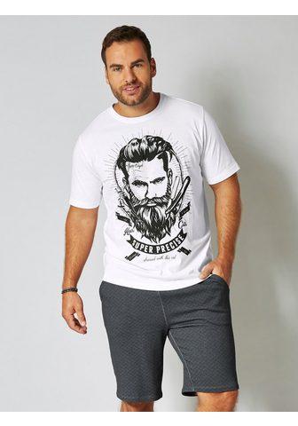 MEN PLUS BY HAPPY SIZE Marškinėliai su großem raštas priekyje...