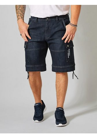 MEN PLUS BY HAPPY SIZE Jeanscargo-Bermuda