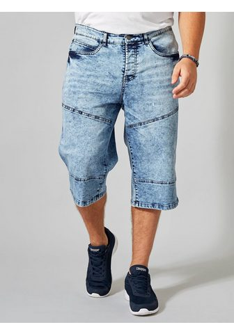 MEN PLUS BY HAPPY SIZE Longjeans-Bermuda