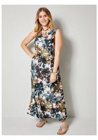 SARA LINDHOLM BY HAPPY SIZE Ilga suknelė su Batikdruck