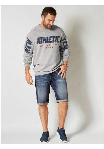 MEN PLUS BY HAPPY SIZE Sportinio stiliaus megztinis in angene...