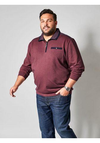 MEN PLUS BY HAPPY SIZE Sportinio stiliaus megztinis su Užtrau...