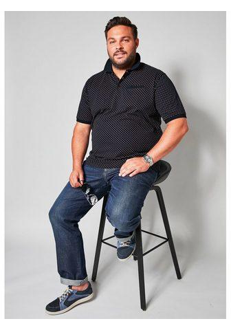 MEN PLUS BY HAPPY SIZE Polo marškinėliai su Druckmuster